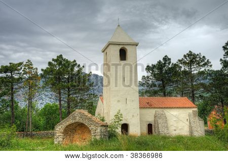St. Peter's Church, Starigrad - Paklenica, Croatia