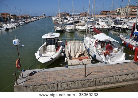 Boats in Marina