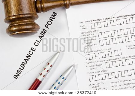 Formulario de reclamación de seguro