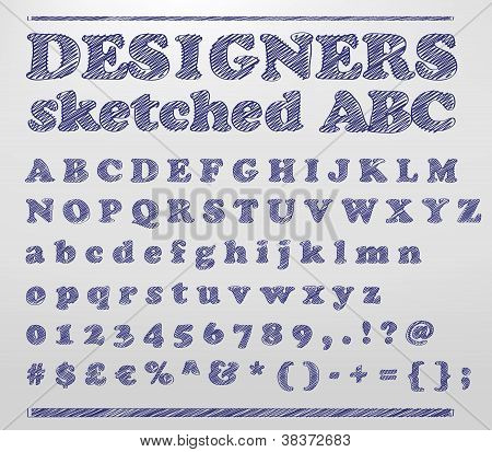 Designers Sketched Abc