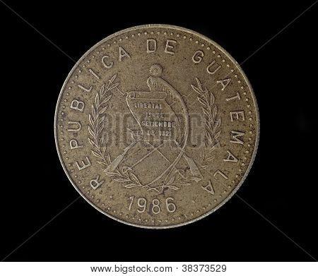 Guatemala Ten Centavos 1986