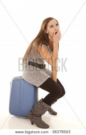 Yawn On Luggage