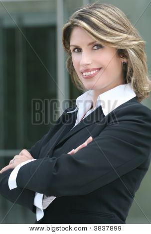 Headshot Of A Business, Corproate Woman