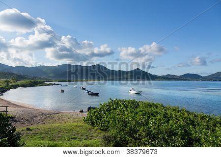 Baie De L'embouchure Boats In Water