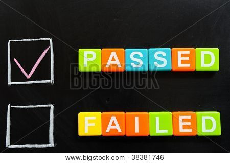 Passed Or Failed