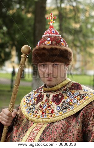 Tourist In Tsar\'S Clothes