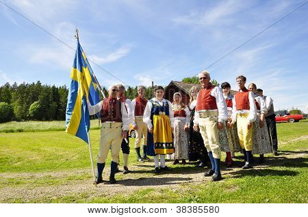 Folklore ensemble of Sweden