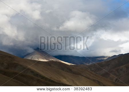 Mountain landscape in Dolpo, Nepal
