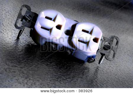 Toma de corriente eléctrica