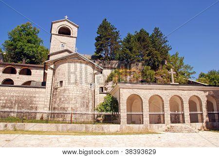 Ortodox Monastery In Cetinje, Montenegro