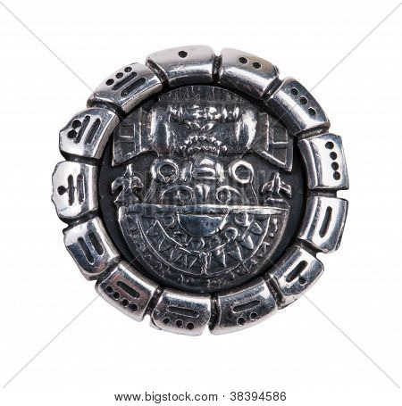 Medallion As A Symbol Of Maya