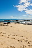stock photo of cortez  - Sea of Cortez and beach in Cabo San Lucas Mexico - JPG
