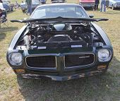 1973 Pontiac Trans Am Firebird Front View