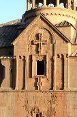 picture of apostolic  - The sunny ancient armenian apostolic church in summer - JPG