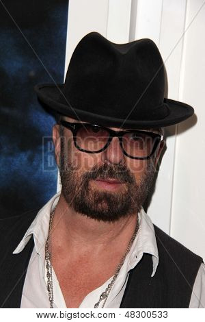 LOS ANGELES - JUL 12:  Dave Stewart at the  Dave Stewart: Jumpin' Jack Flash & The Suicide Blonde Photography Exhibit at the Morrison Hotel Gallery on July 12, 2013 in West Hollywood, CA