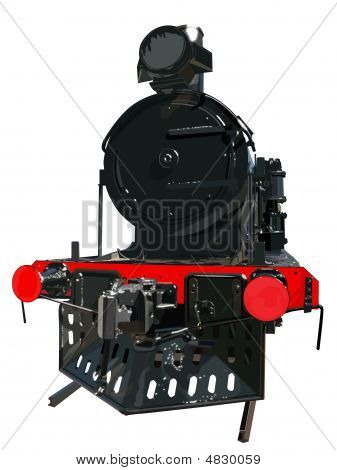 Dark Train With Detail