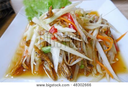 Thai Papaya Salad (som Tum)