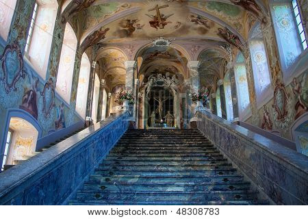 Interior of Kreuzberg Church
