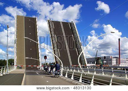 Juliana brug. Zaandijk, Nederland.