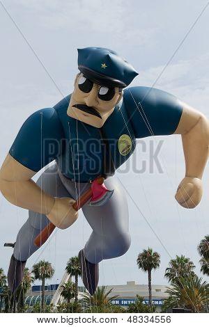 Policeman Ballon