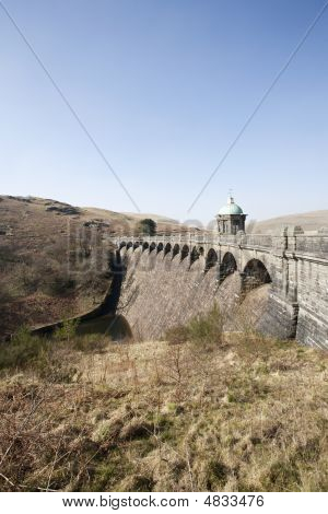 Large Welsh Dam