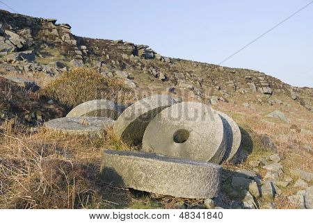 Peak District Millstones