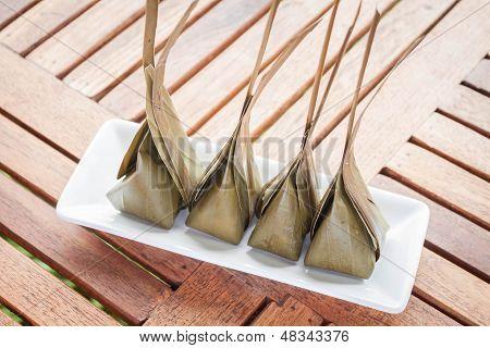 Al vapor de harina con relleno de coco