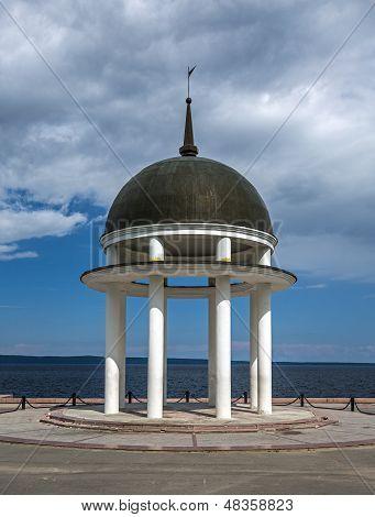 Peter's rotunda in Petrozavodsk