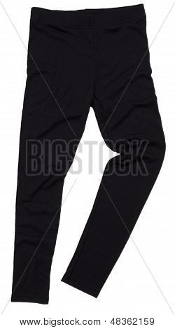 Sweatpants isolated on white background