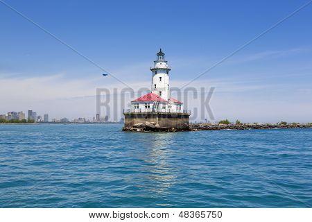 Skyline With Lighthouse