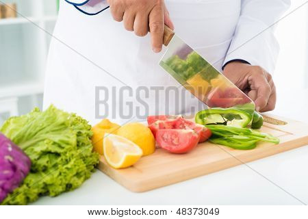 Pepper Slicing