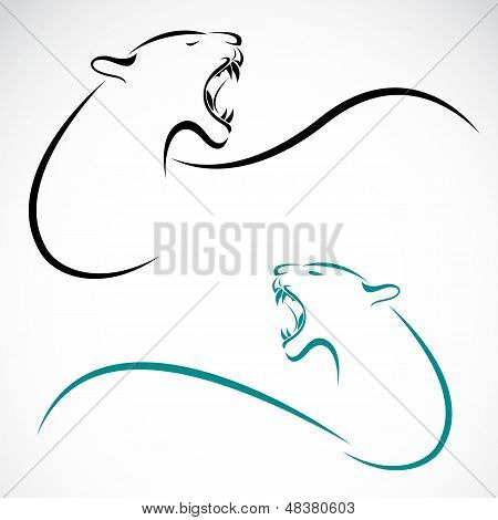 Vector Image Of An Lion