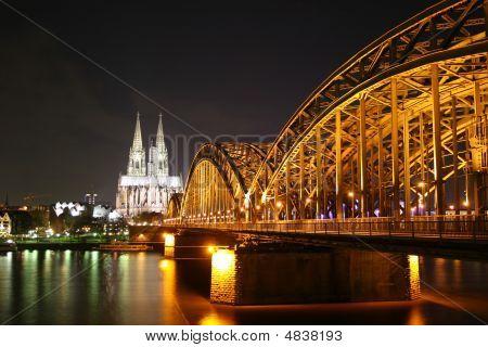 Illuminated Cologne Dome