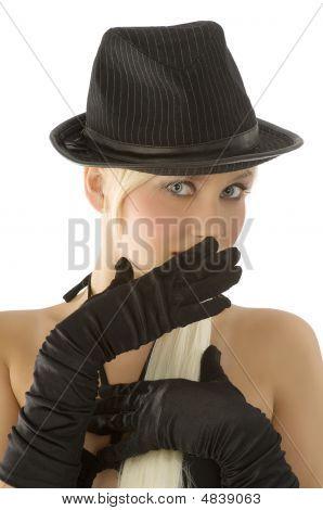 Black Fashion Portrait