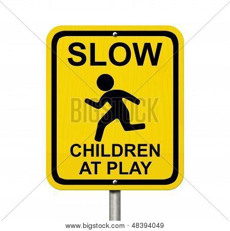 Cuidado com as crianças estão presentes