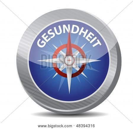 Guide To Great Health In German. Compass