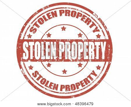 Stolen Property-stamp