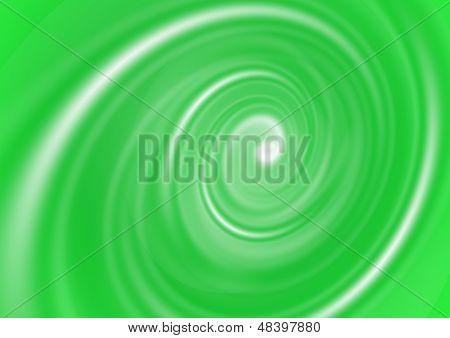 Green abstract vortex