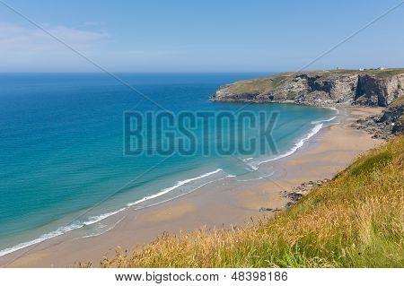 Trebarwith beach Cornwall England UK