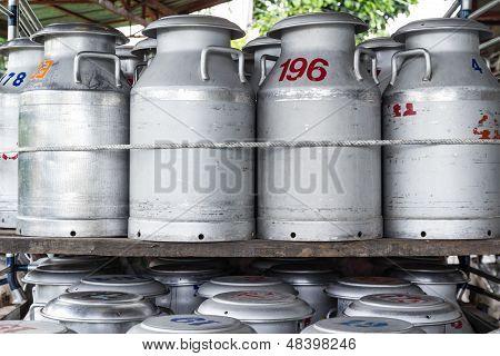 Tank Raw Milk