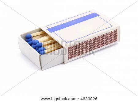 Opened Matchbox