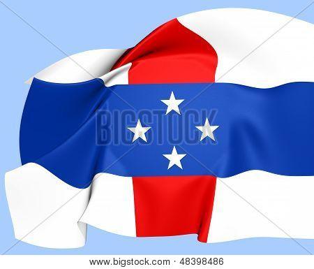 Bandeira de países baixos Antilhas (1954-2010)