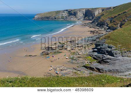 Trebarwith Strand Cornwall