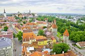 picture of olaf  - Aerial view of Tallinn Estonia - JPG
