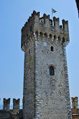 The tower at Sirmione Castle