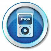 stock photo of beep  - Illustration metallic icon for web isolated - JPG