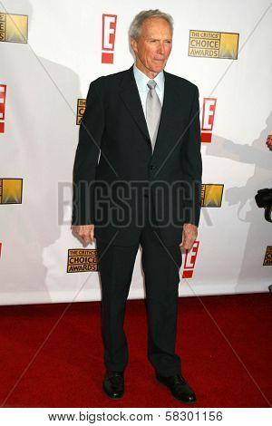 Clint Eastwood at the 12th Annual Critics' Choice Awards. Santa Monica Civic Auditorium, Santa Monica, CA. 01-12-07