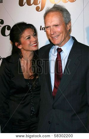 Dina Eastwood and Clint Eastwood at The 32nd Annual Los Angeles Film Critics Association Awards. The Hyatt Regency Century Plaza, Century City, CA. 01-14-07