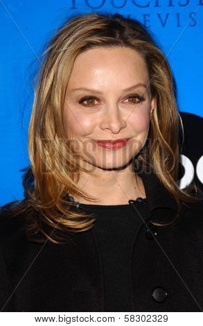 Calista Flockhart at the Disney - ABC Television Group