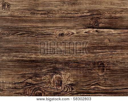 Old brown Woode